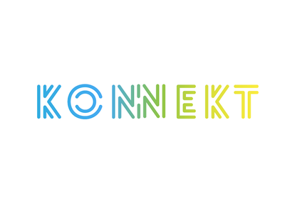 Konnekt logo conception 1.0  konnekt connection logo