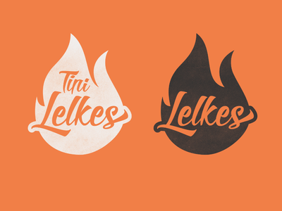 Lelkes logo youth youth camp fire holy spirit christian logo