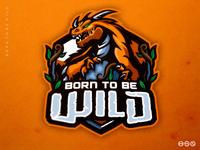 Born To Be Wild Dragon Logo