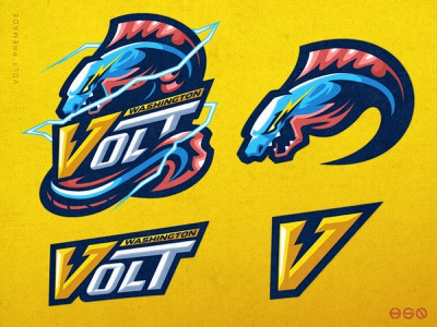 VOLT Electric Eel Mascot Logo brand identity icon logo logo design logotype logodesign lettering team logo twitch vector gaming sportslogo gaming logo illustration bold branding esports