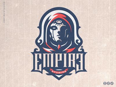 EMPIRE vintage logo sports logo team logo typogaphy typeface gamers ux ui illustration gaming logo mascot logo sportslogo branding esports