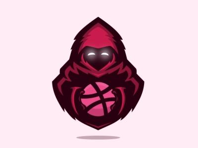 HELLO DRIBBBLE !! fun reaper illustration debuts mascot