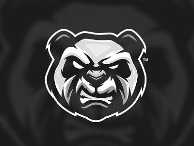 GG Panda gaming logo music clothing illustration sportslogo cool vector logo bold gaming branding esports