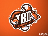 Adorable mascot logo for TBD Community