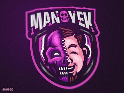 Manoyek Mascot Logo
