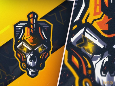 Cyber Spartan Skull web app sports icon ux gaming logo logodesign design cool gamers twitch bold branding gaming mascot sportslogo logo illustration vector esports