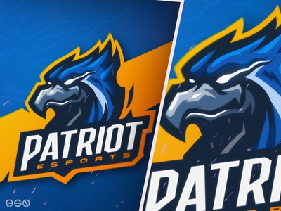 GRIFFIN / EAGLE / FALCON Mascot Logo logodesign vector mascot gaming sportslogo logo gaming logo illustration bold branding esports