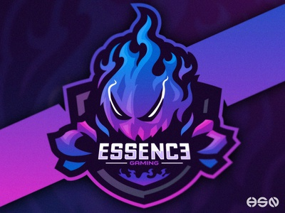 Essence Gaming Dribbble logodesign vector mascot typography team logo gaming logo illustration bold branding esports