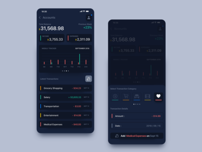 #001 // Rebound // Finance Calculator App