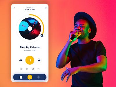 App Design Academy app designer best ui design best music app music app music ui app design