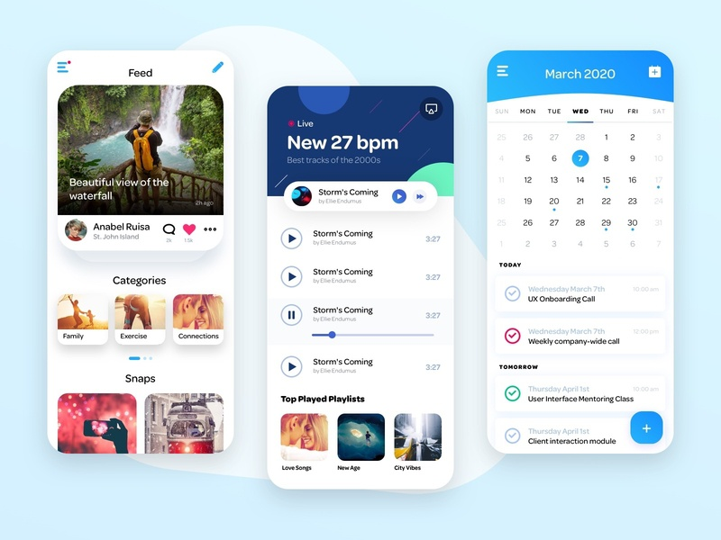 C27 Design System ios design ui ui design app design app social app music app calendar app app ui
