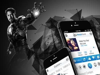 MDHND iOS UI Design
