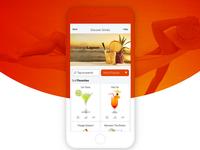 Somabar App Design