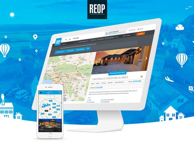 REOP Web and iOS design & Development
