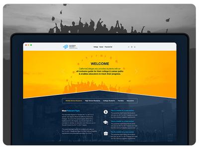 California Colleges UX & UI Design