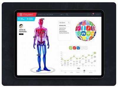 Lifespeed Tablet Design ipad design ui ux ui design app design