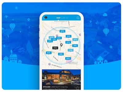 Real Estate App Design & Development