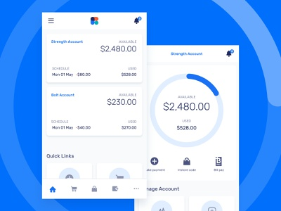 Banking & Finance app ux ui mobile ui application ios currency mobile finance banking credit card interaction ux design ui design app