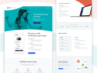 ecommerce consumer landing page ui design ux design interaction shopping app store photoshop sketch dribbble website design websites app ui ux website design landing page ecommerce