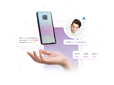 Mobile App Graphic with Photoshop & Sketch floating dribbble ux design ui design interaction graphic art sketch uidesign app mobile ux ui gradient hover graphic design graphicdesign photoshop