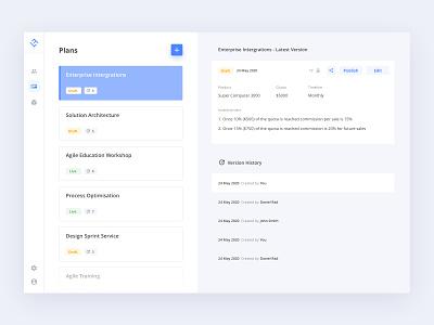 Real CMS Planner Dashboard | Split screen list dashboard application sketch ux design interaction ui design ux designer designs ui buttons design admin dashboard admin