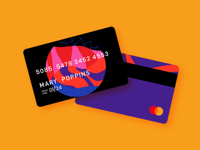 Card Design II branding concept branding design money cash banking bank card card design card branding illustration design digital