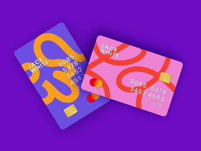 Card Design III branding design brand brand design banking app card bank card money cash bank branding vector illustration design digital