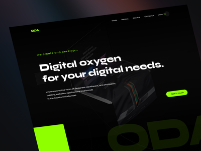 Oxygen Digital Agency web design dubai tehran ux iran ui agency website design