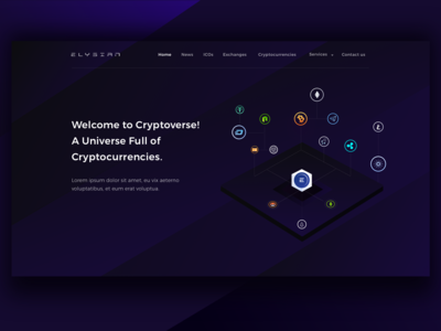Ico Landing Page
