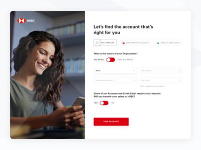 Open account in HSBC