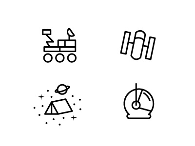 Dribble icons