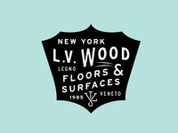 L.V Wood Logo