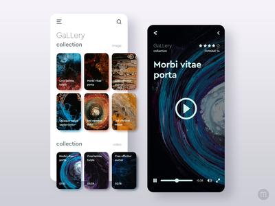 GaLLery App Consept Design