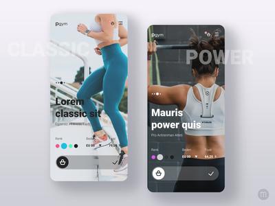 Pgym Mobile Consept Design