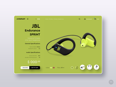 JBL Website Consept Design