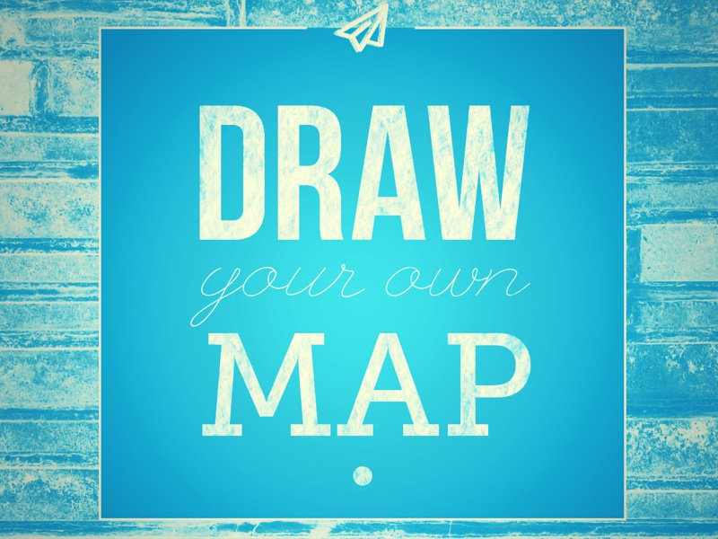 Draw Your Own Map Vintage by Soren Fox (Tarra) Hamby on Dribbble Draw Your Own Map on