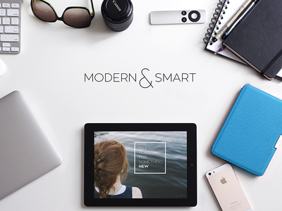 Modern & Smart Website Hero Header