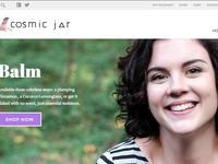 E-commerce site mockup slider detail