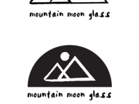Mountain Moon Glass