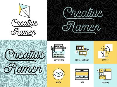 Creative Ramen Brand creative team logo brand branding awesome intuitive
