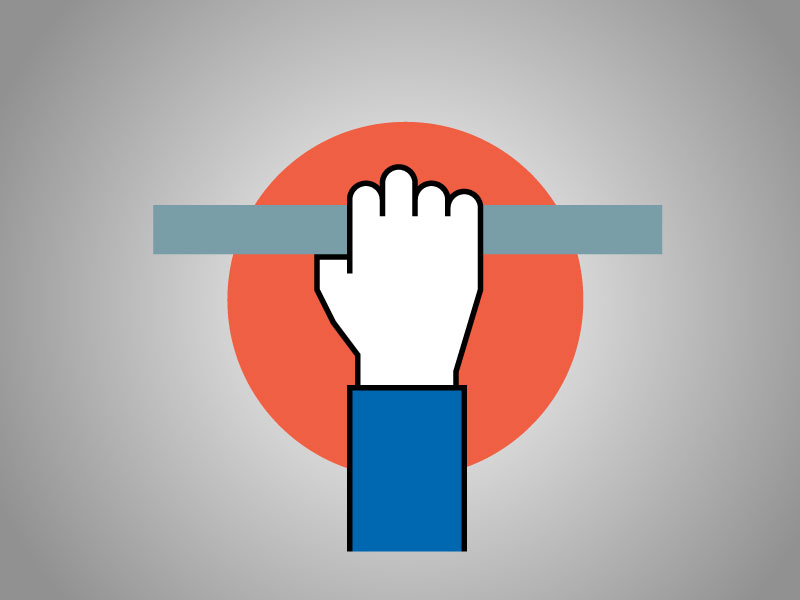 Dont leave the user hanging iconography brand branding hand handing user icon