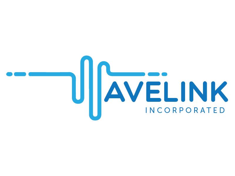 Wavelink Logo Process contract government branding wavelength wave logo