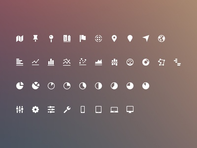 SEOface icons preview icons icon set ui user interface icons vector illustrator glyphs freebies