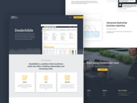 Dealerbible - Landing page
