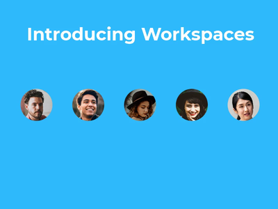 Workspaces Animation motion graphic design animation bannersnack application