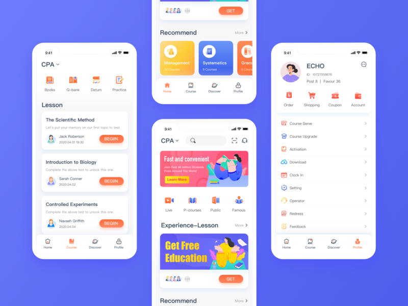 Education App Design