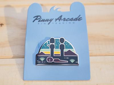 Thimbleweed Park Pin adventure game indie game game design pinny arcade pax badge enamel pin pin illustration