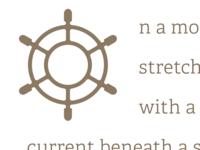 Nautical Drop Cap