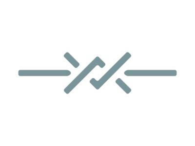 Barbed Wire Mark western barb wire barbed wire illustration symbol icon design mark logo