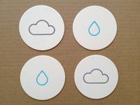 Rainy Day Coasters